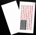 AMERICAN LIFE - PROMO ONLY ENVELOPE